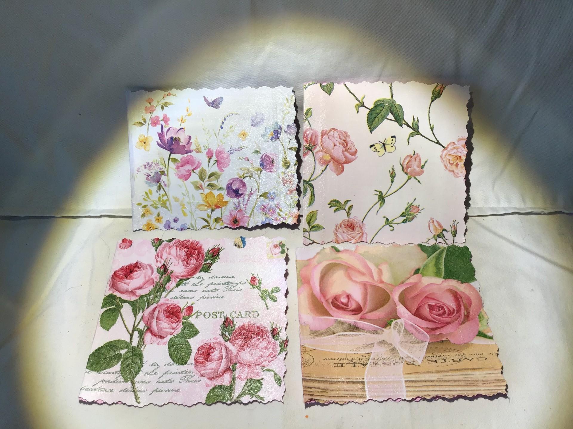 Séries de petites cartes