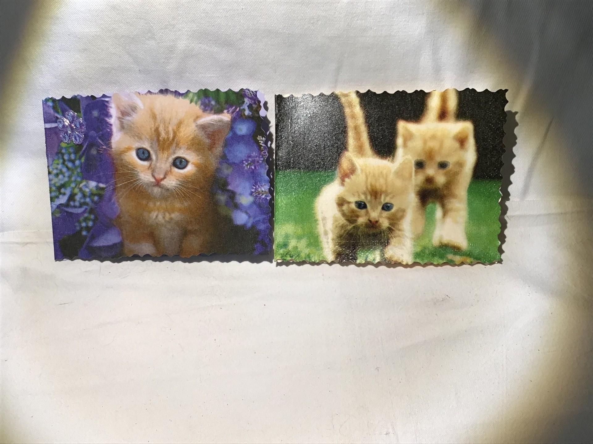 séries de petites cartes ! Spécial «chats»
