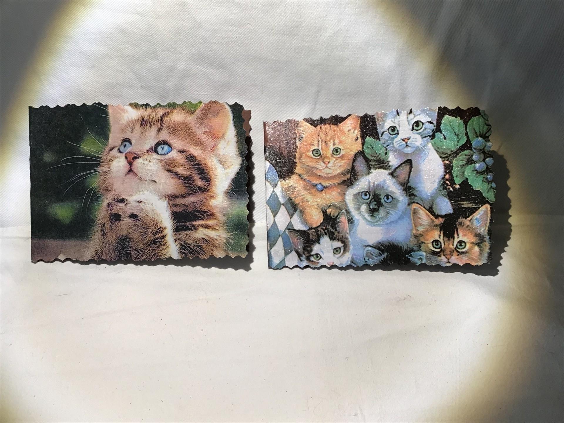 séries de petites cartes ! Spécial chats