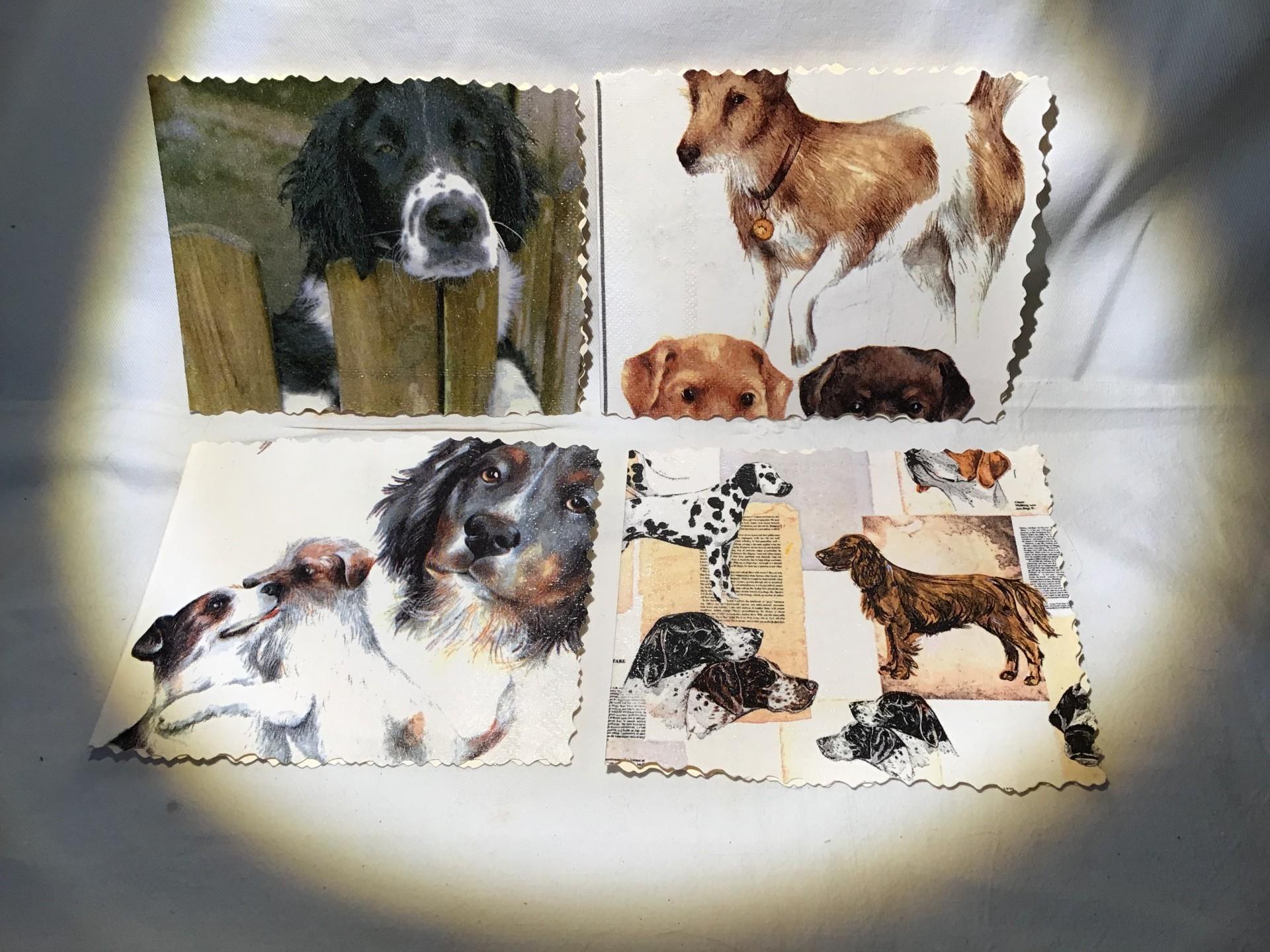 séries de petites cartes ! Spécial «chiens»