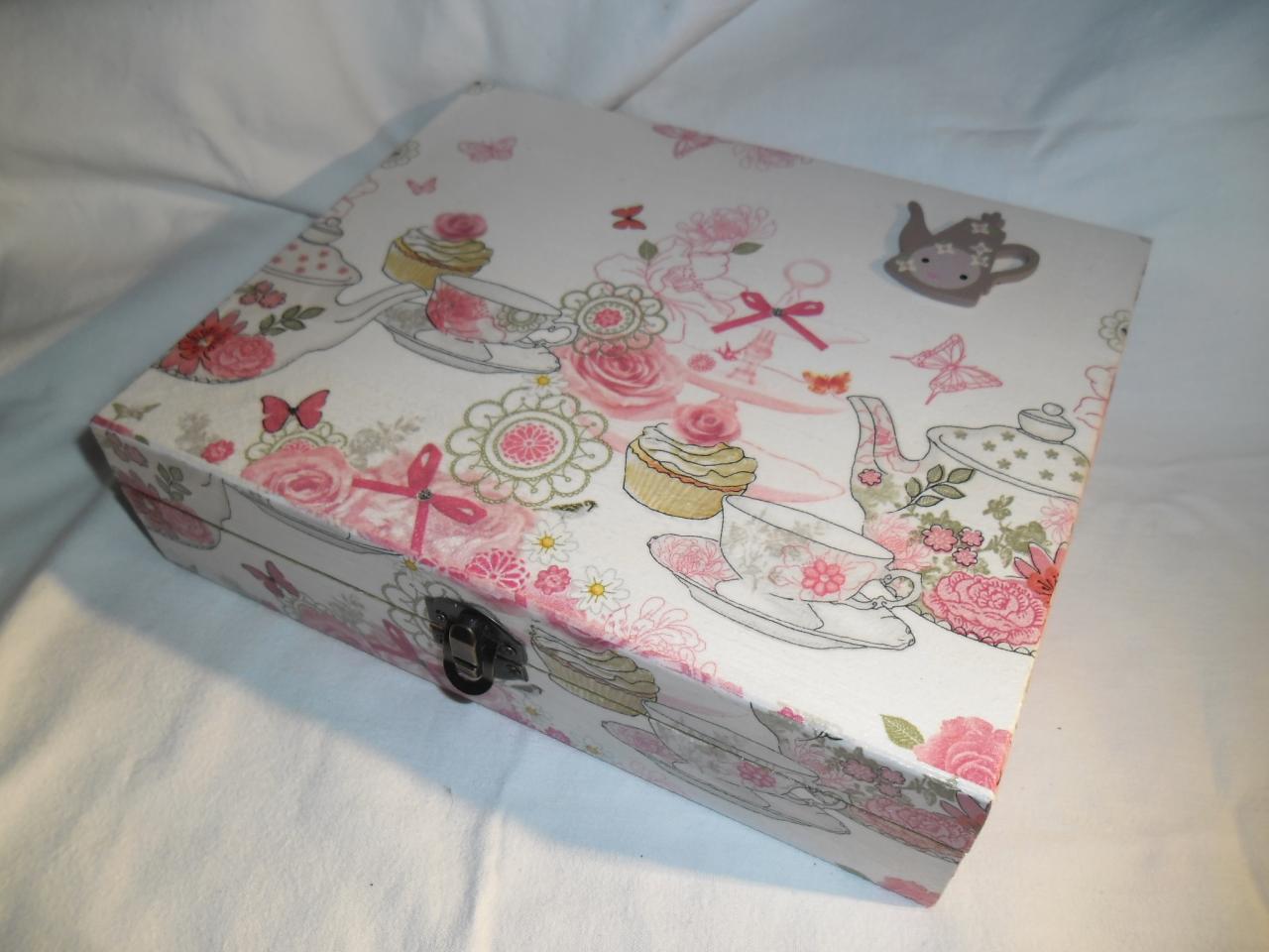 jolie boîte à thé